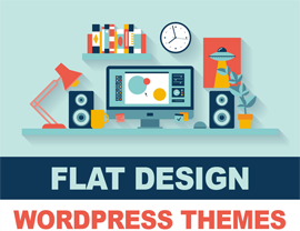 Best Flat Responsive Design WordPress Themes 2014