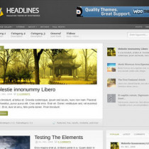 HeadLines by Woothemes