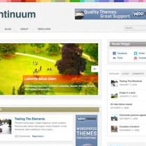 Continuum by Woothemes
