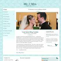 Mr. & Mrs by Templatic Themes