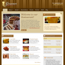 Gourmet Restaurant by Templatic