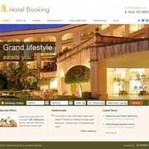 Hotel Booking by Templatic