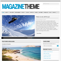 Magazine by Organicthemes