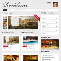 Residence by Real Estate Themes