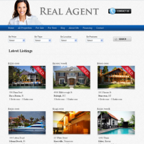Real Agent by Gorillathemes