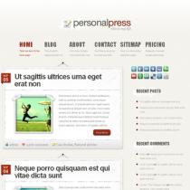PersonalPress by Elegantthemes
