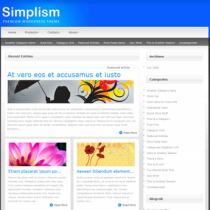 Simplism by Elegantthemes