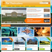 HOT Destinations by Hotjoomlatemplates