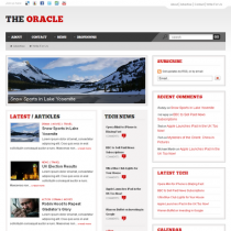 The Oracle by Templatic Themes