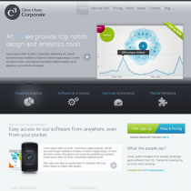 Clean Corporate by Elegantthemes