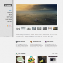 Dropholio by Themeforest