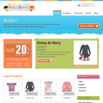 Kidz Store by Templatic