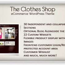 The Clothes Shop by Themeforest
