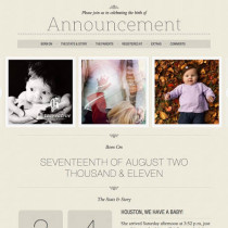Announcement by Themeforest
