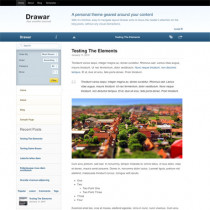 Drawar by Woothemes