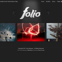 Folio by Elegantthemes