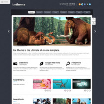 Ice by Themeforest