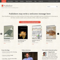 Publisher By Templatic