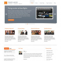 Private Lawyer by Templatic