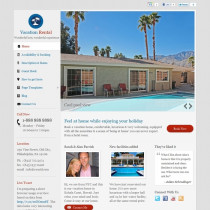 Vacation rental by Templatic