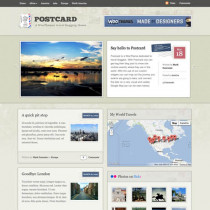 Postcard by Woothemes