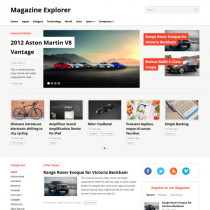 Magazine Explorer by WPzoom