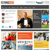FlyingNews by ThemeForest
