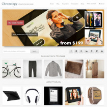 Chronology by Storefrontthemes
