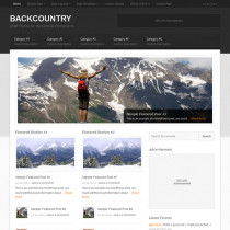 Backcountry by StudioPress