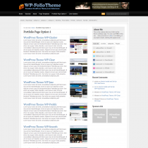 WP-Folio by Solostream