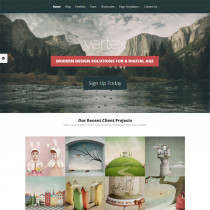 Vertex Theme by Elegant Themes
