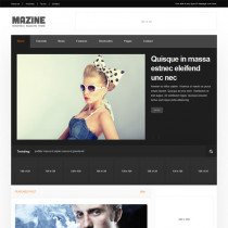 Mazine by Themeforest