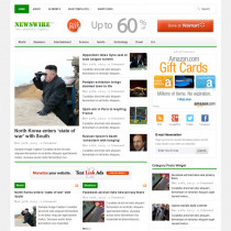 Newswire 2.0 by theme junkie