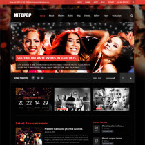 Nite Pop by themeforest