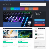 Novelti by themeforest
