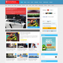 SomeNews by themeforest