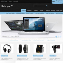 Halcyon by Rocket Theme