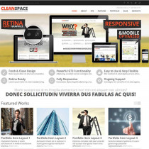 CleanSpace by ThemeForest