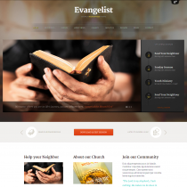 Evangelist by Themefuse