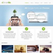 SimpleBiz by ThemeForest