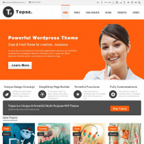 Topaz by ThemeForest