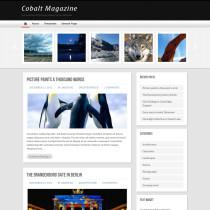 Cobalt Magazine by WPCrunchy