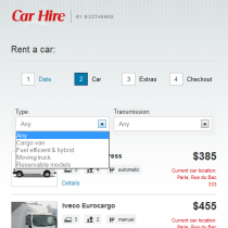 Car Hire by Bizzthemes