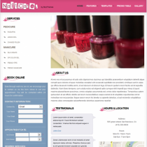 Nail Care Salon by Bizzthemes