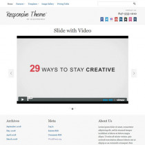 Responsive by Bizzthemes