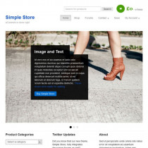 Simple Store by Bizzthemes