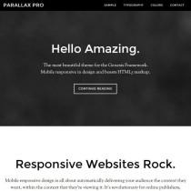 Parallax Pro by Studiopress
