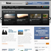 Bold News by Woothemes