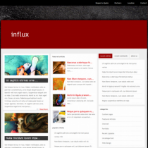 Influx by Elegantthemes