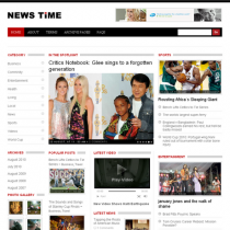 News Time by Templatic
